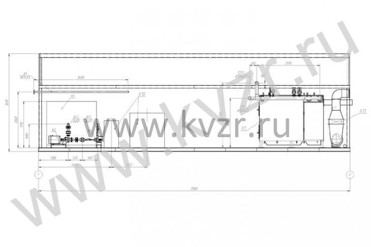 Модульная котельная 3,3: http://www.kvzr.ru/modular-boilers-mku-372.html